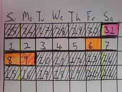 Calendar 407850690_9f0d8cae55_m