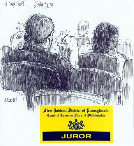 Jury Duty by James Mundie